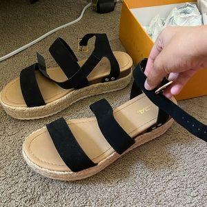 Soda shoes